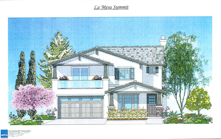 Two Story Home - La Mesa Summit Estates