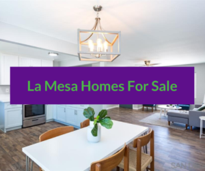La Mesa homes for sale
