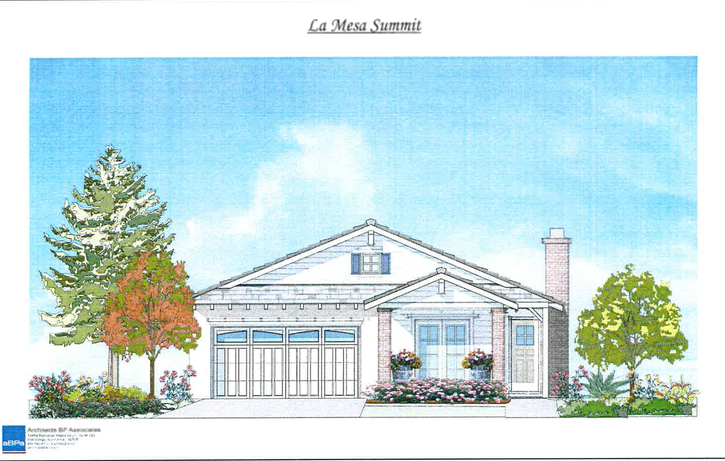 Single Story 1 Floorplan - La Mesa Summit Estates