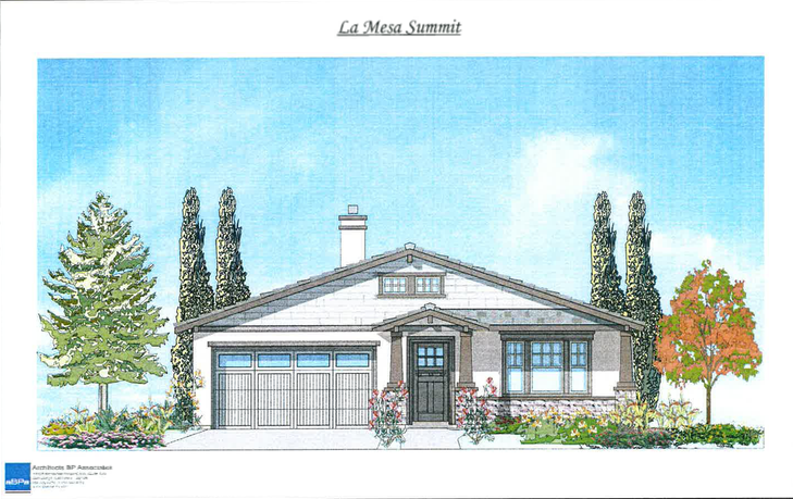 Single story 2 - La Mesa Summit Estates