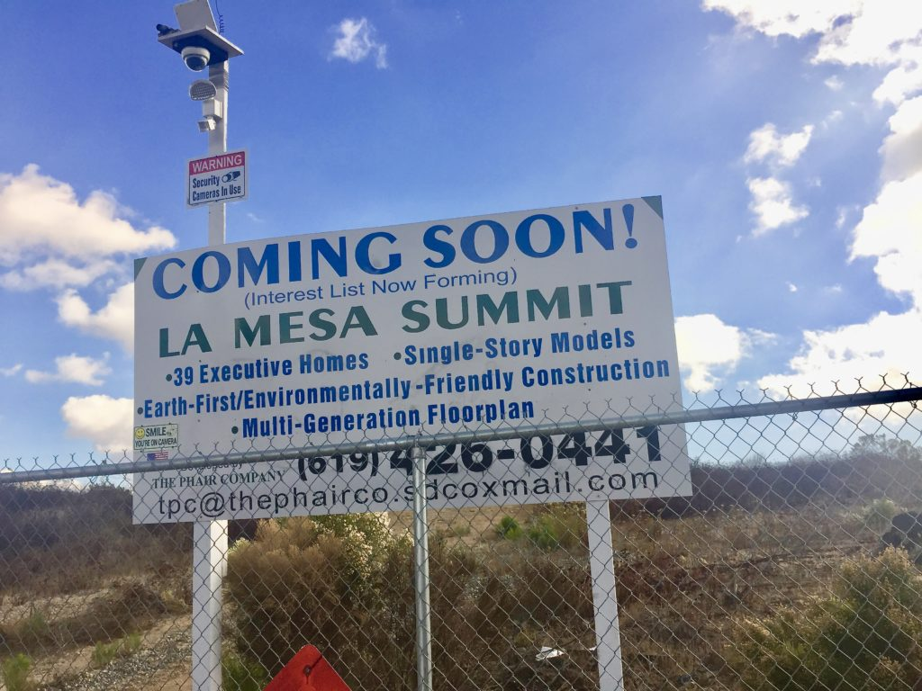 La Mesa Summit Estates