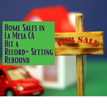 Home Sales in La Mesa CA FI