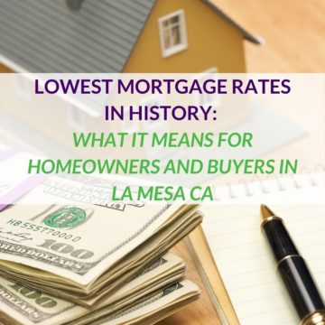 LOWEST MORTGAGE RATES IN HISTORY_ WHAT IT MEANS FOR HOMEOWNERS AND BUYERS IN LA MESA CA