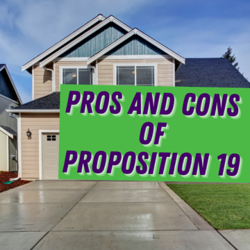 Pros and Cons of Proposition 19