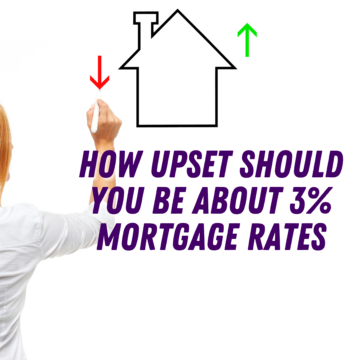 How Upset Should You Be about 3% Mortgage Rates